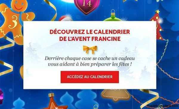 calendrier avent francine