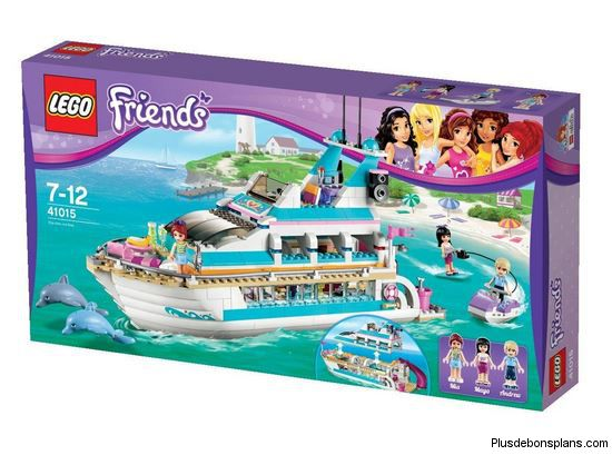 lego friends le yacht au lieu de chez carrefour. Black Bedroom Furniture Sets. Home Design Ideas