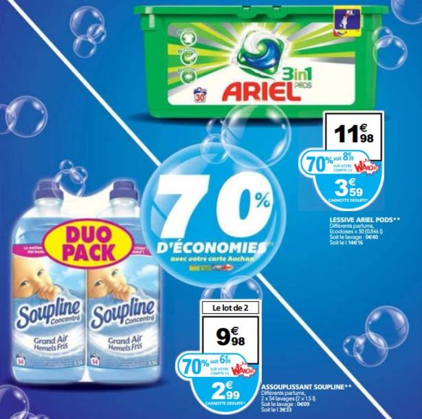 promos catalogue auchan le blanc 2016