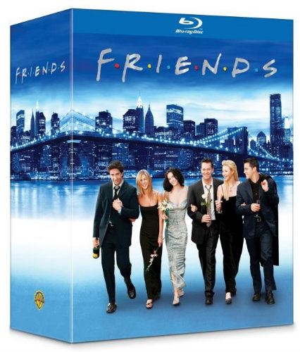 integrale friends en blu-ray solde chez cdiscount