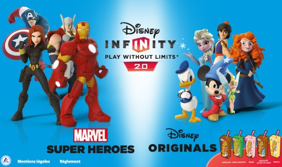 Jeu Candy'Up et Disney Infinity