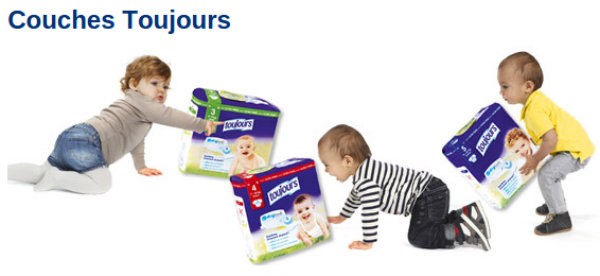 les couches lidl toujours