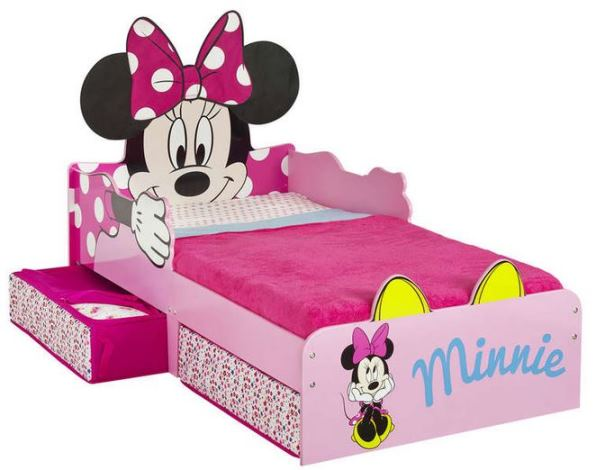 lits minnie moins chers chez auchan et conforama. Black Bedroom Furniture Sets. Home Design Ideas