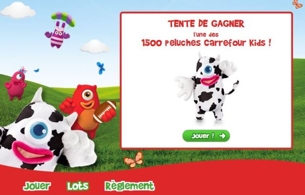 peluches carrefour kids club