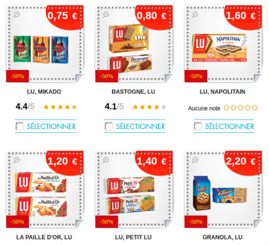 Coupons reductions les petits caprices