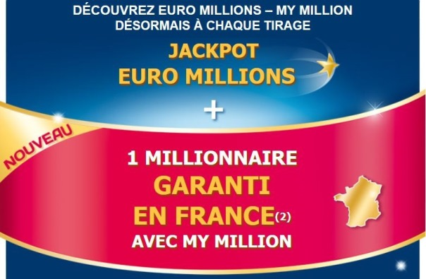 loterie euro millions et my million de la fdj