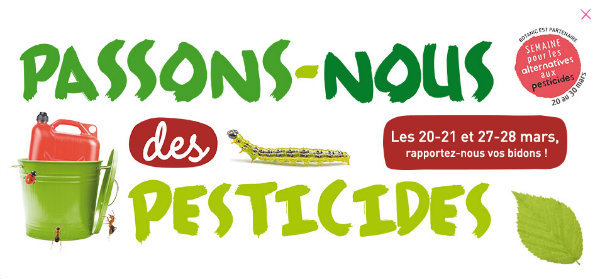 botanic recycle les pesticides