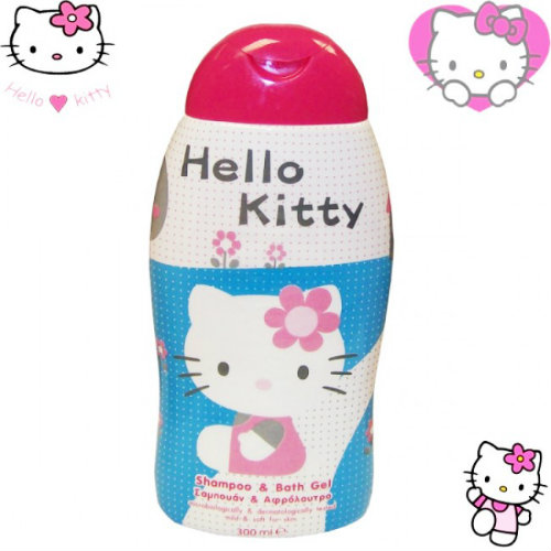 shampoing hello kitty