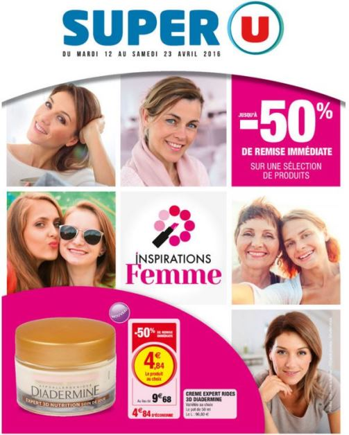 catalogue super u beauté 2016