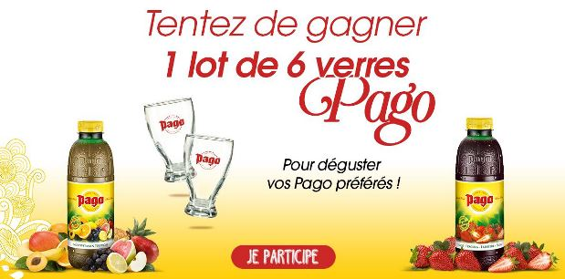 concours instant gagnant pago