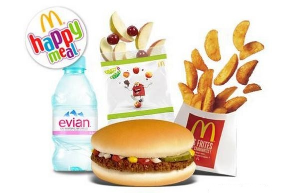 le menu happy meal
