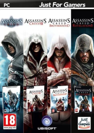 pack de 4 jeux assassin's creed pc