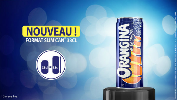 rosedeal orangina slim can