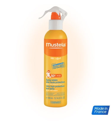 50 sprays solaires mustela offerts