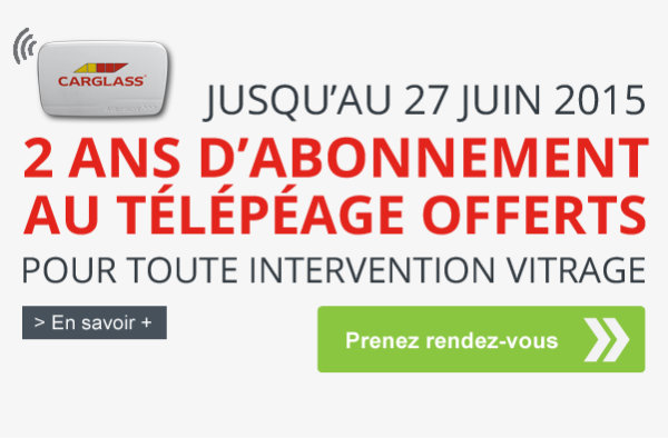 carglass offre abonnment telepeage