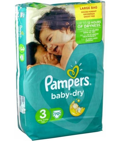 Couches baby dry pampers intermarch en promo 60 2 - Couches pampers taille 4 comparateur prix ...