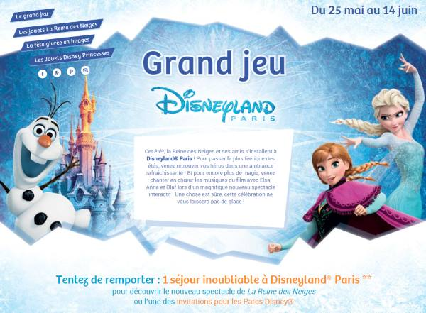 51 invitations à Disneyland Paris via la Grande Recré