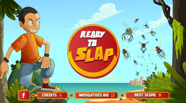application slap mosquitoes