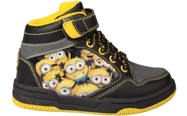 chaussures montantes minions