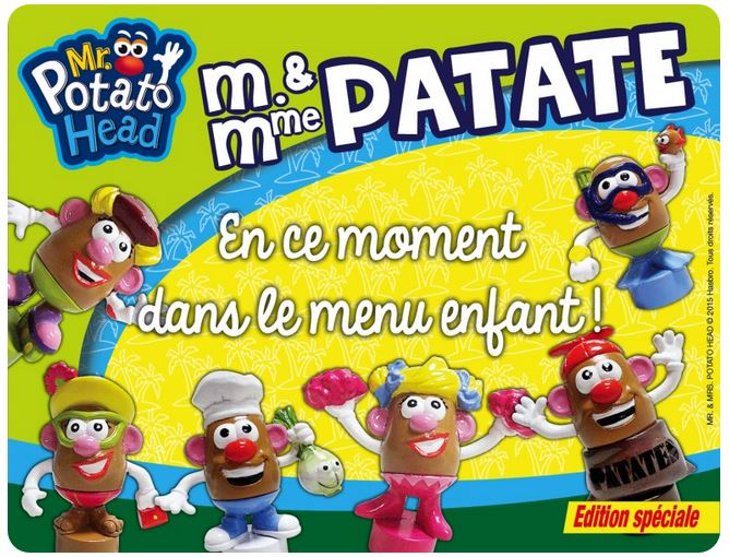 figurines mr patate offertes par la pataterie