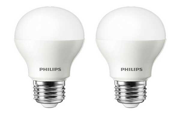 4 ampoules LED Philips