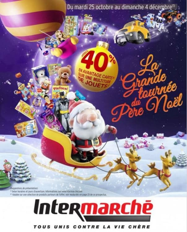 catalogue intermarche de noël 2016