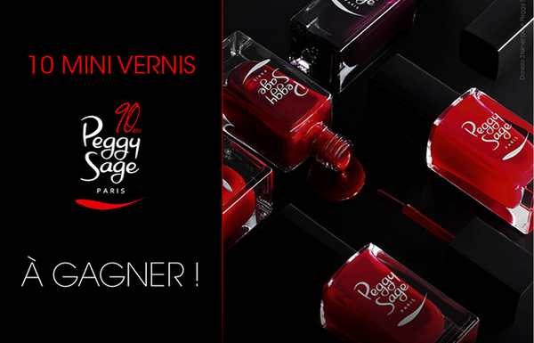 kit mini vernis Peggy Sage