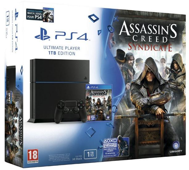 pack ps4 assasin's creed syndicate