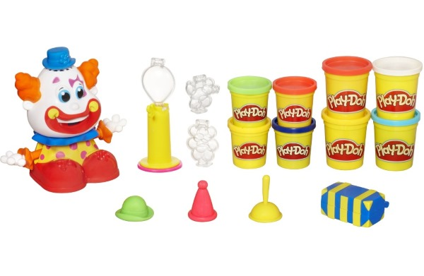 Play Doh Clown