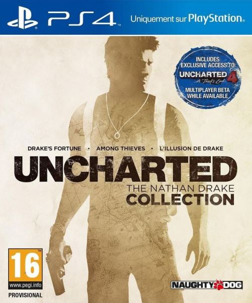 uncharted the nathan drake collection sur ps4