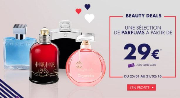beauty deal marionnaud saint-valentin