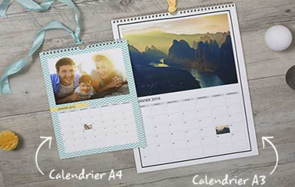 calendrier Photobox