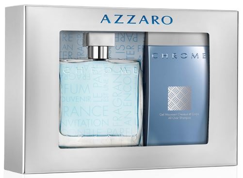 coffret azzaro chrome