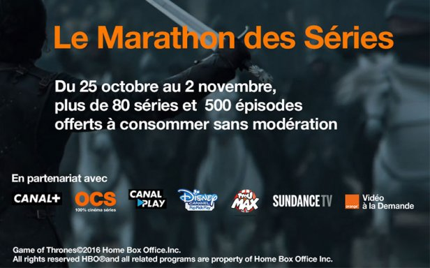 marathon series orange tv