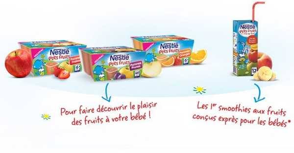 Nestlé P'tits Fruits