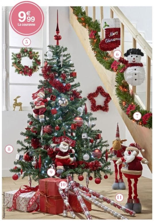 Carrefour sapin artificiel moins cher d s pour for Sapin de noel decoration
