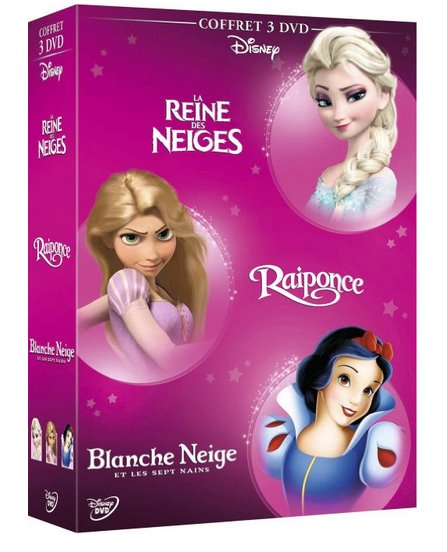 coffrets DVD Disney accessible dès 12,99 € sur Amazon