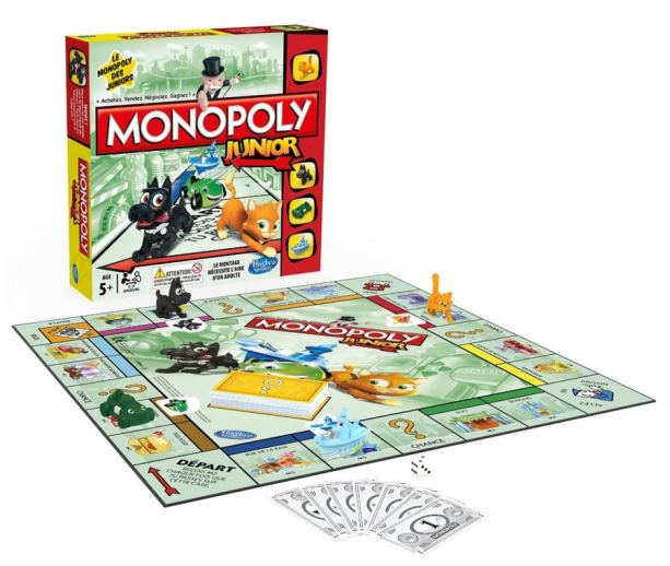 monopoly junior de hasbro