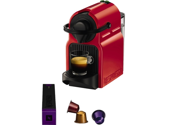 machine Nespresso Krups Inissia Red Ruby à 29€