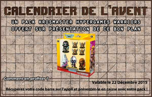 pack de 6 figurines Krosmaster Hypergames Warriors