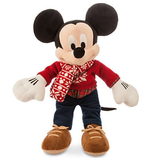 peluche mickey taille moyenne