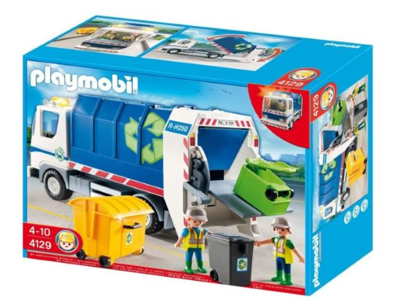 cdiscount playmobil camion poubelle recyclage 15 99. Black Bedroom Furniture Sets. Home Design Ideas