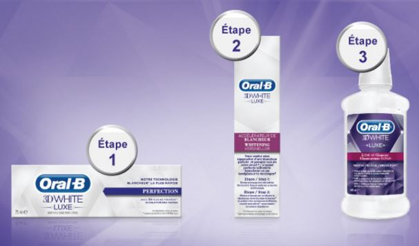 test oral-b 3d white luxe