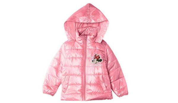 Un manteau fille à l'effigie de Minnie à moins de 10€ chez Amazon