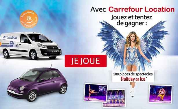 carrefour location holiday on ice