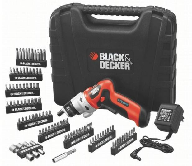 coffret tournevis black et decker