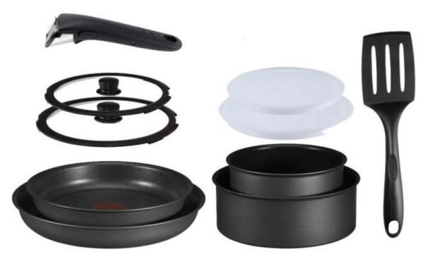 set tefal ingenio 10 pieces tous feux dont induction