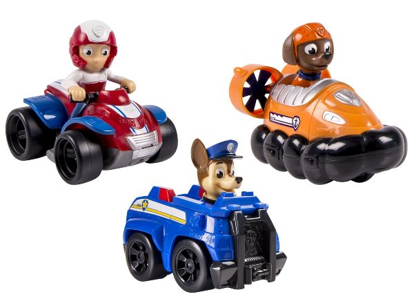 le pack 3 véhicules Paw Patrol