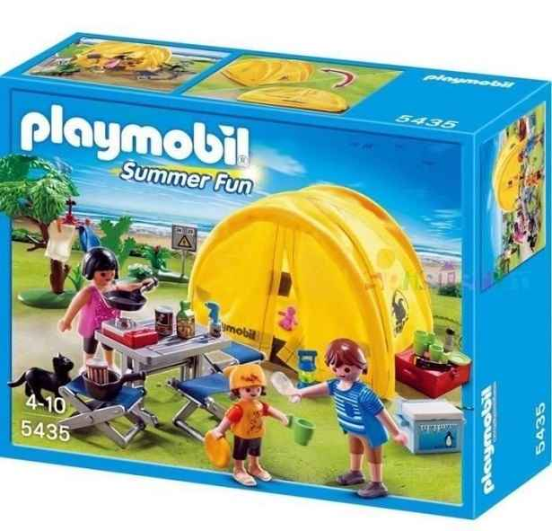 boite playmobil camping