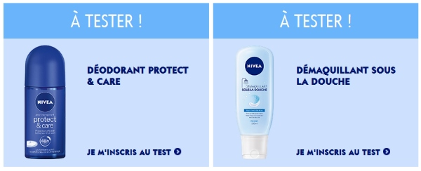 2 tests sur Nivea Loves You